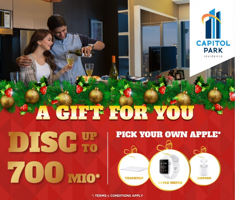Capitol park residence salemba jakarta pusat - A Gift For You Dec 2018