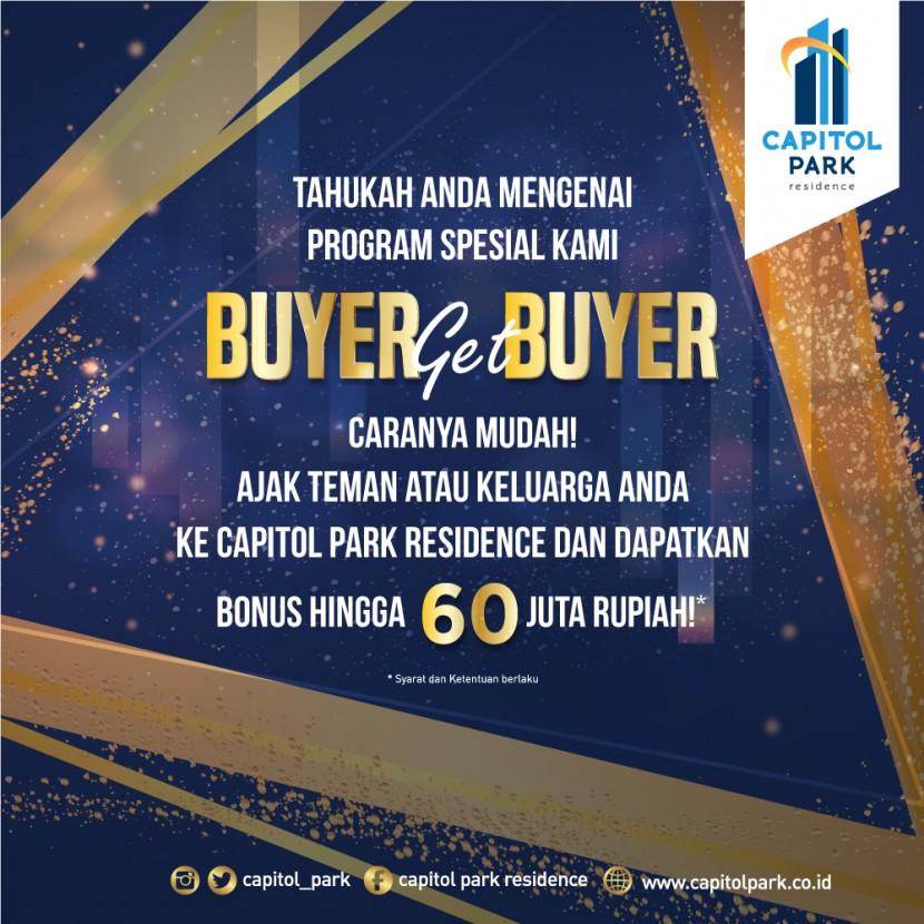 Capitol park residence salemba jakarta pusat - Buyer Get Buyer - Jan 2020