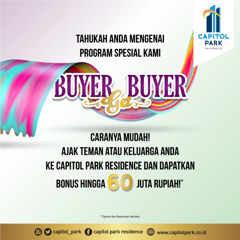 Capitol park residence salemba jakarta pusat - Buyer Get Buyer - March 2020
