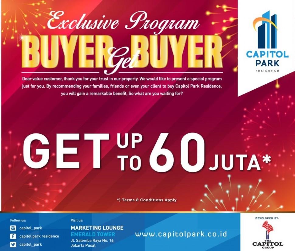 Capitol park residence salemba jakarta pusat news - Buyer Get Buyer - July 2018