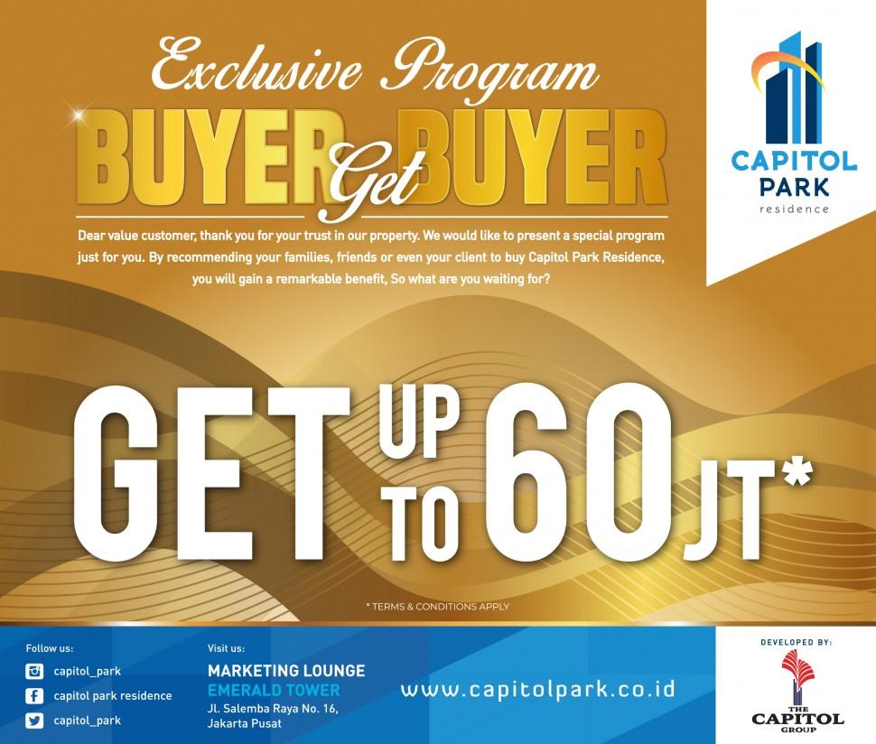 Capitol park residence salemba jakarta pusat - Buyer get Buyer - April 2019