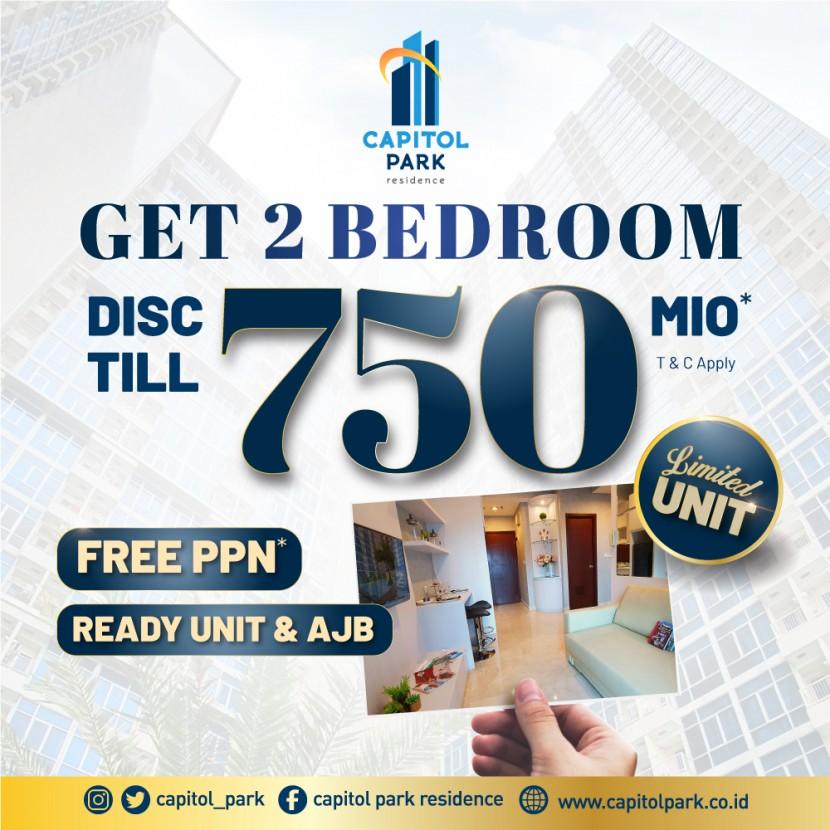 Capitol park residence salemba jakarta pusat - DISC TILL 750 MIO (LIMITED UNITS) – JUNE 2021