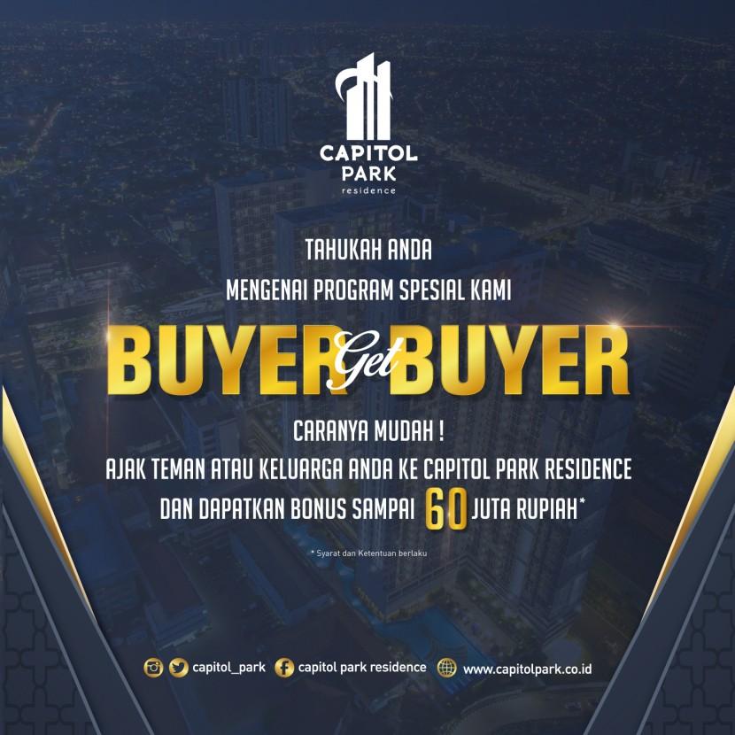 Capitol park residence salemba jakarta pusat - Buyer get Buyer - June 2019