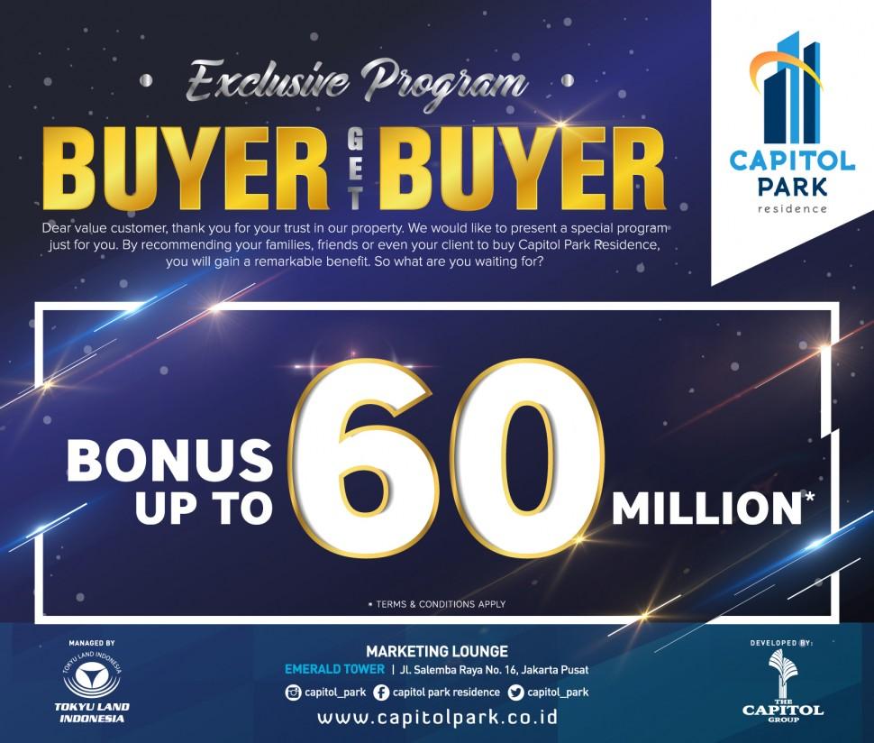 Capitol park residence salemba jakarta pusat - Buyer get Buyer - May 2019