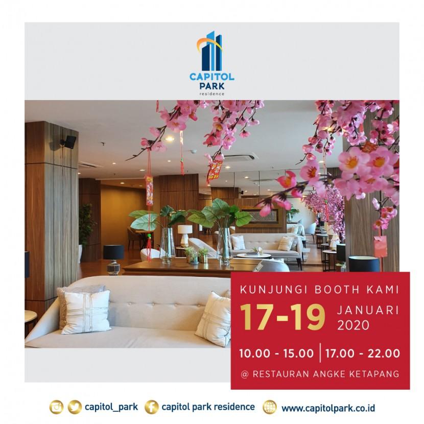 Capitol park residence salemba jakarta pusat - Exhibition - Jan 2020