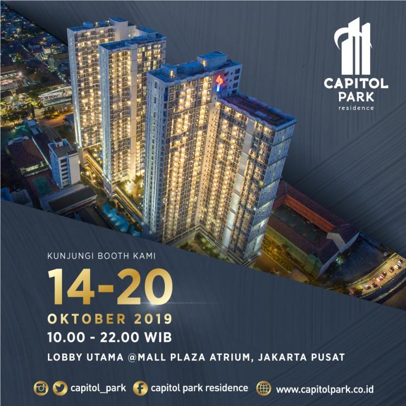Capitol park residence salemba jakarta pusat - Exhibition - Oct 2019