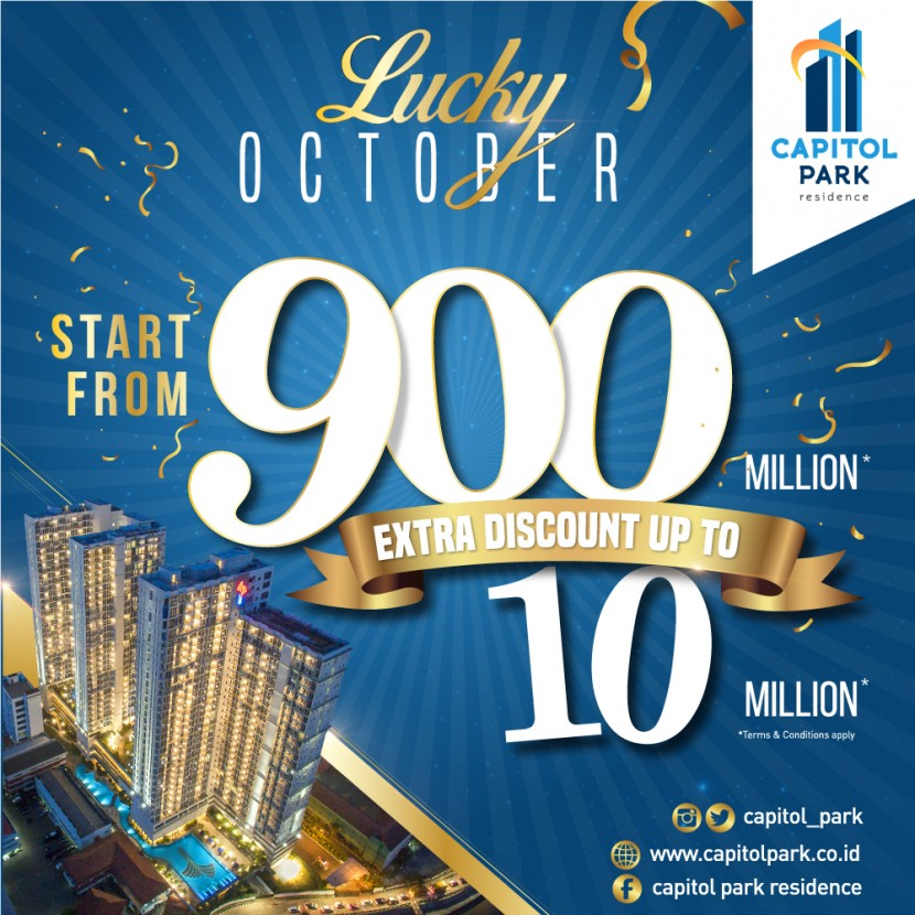 Capitol park residence salemba jakarta pusat - Lucky - Oct 2019