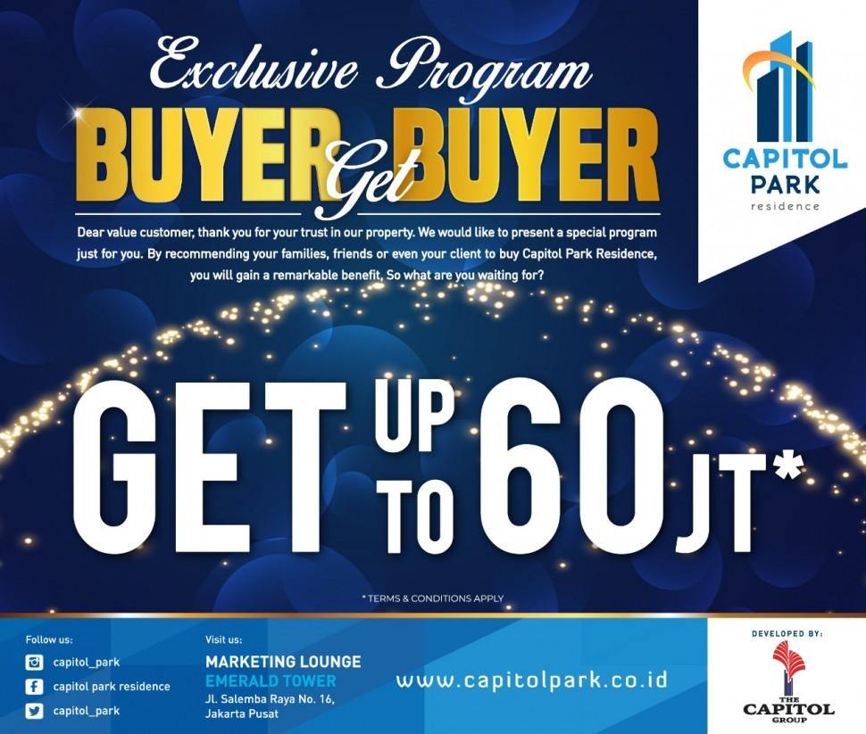 Capitol park residence salemba jakarta pusat - Buyer Get Buyer - Mar 2019