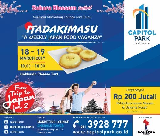 Capitol park residence salemba jakarta pusat news - Japan Food Vaganza