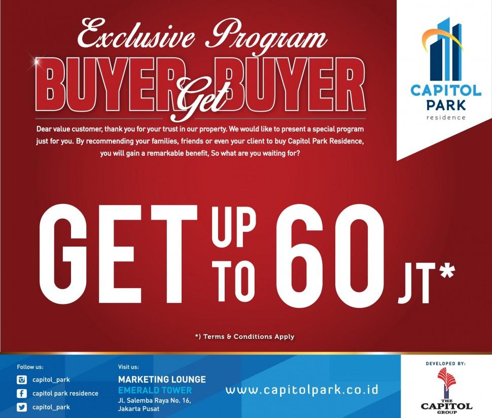 Capitol park residence salemba jakarta pusat - Buyer Get Buyer - Aug 2018