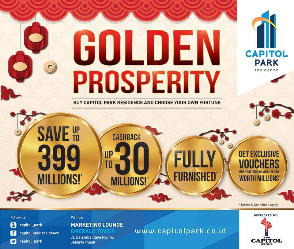 Capitol park residence salemba jakarta pusat - Golden Prosperity - Buy Capitol Park Residence