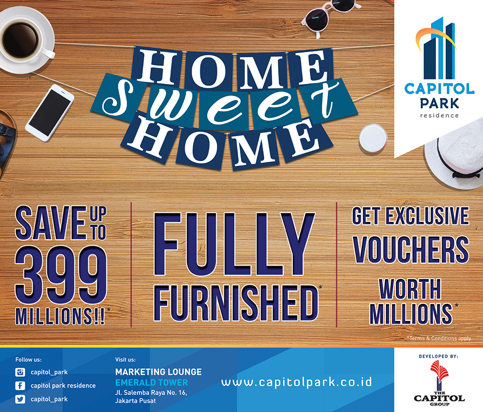 Capitol park residence salemba jakarta pusat news - Home Sweet Home - Save Up To 399 Millions