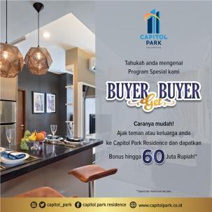 Capitol park residence salemba jakarta pusat news - Buyer Get Buyer - April 2020