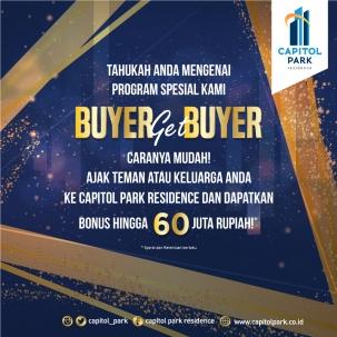 Capitol park residence salemba jakarta pusat news - Buyer Get Buyer - Jan 2020