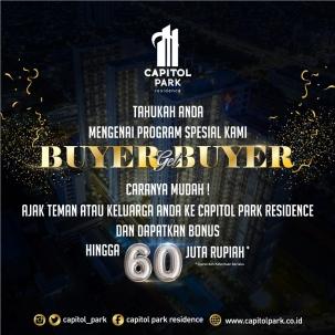 Capitol park residence salemba jakarta pusat news - Buyer Get Buyer - Sept 2019