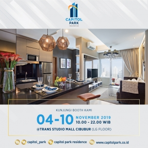 Capitol park residence salemba jakarta pusat news - Our Booth - Nov 2019