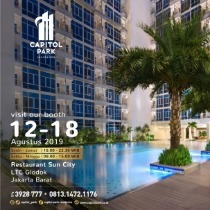 Capitol park residence salemba jakarta pusat news - Our Booth - Aug 2019