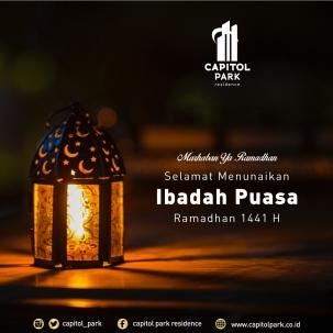 Capitol park residence salemba jakarta pusat news - Ramadhan 1441H - April 2020