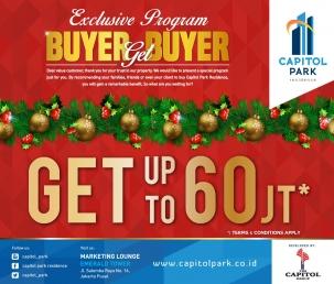 Capitol park residence terjangkau siap huni - Buyer Get Buyer Dec 2018