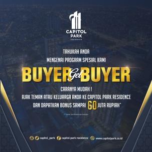 Capitol park residence salemba jakarta pusat news - Buyer get Buyer - June 2019