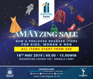 Capitol Park News - Amazing Sale - May 2019