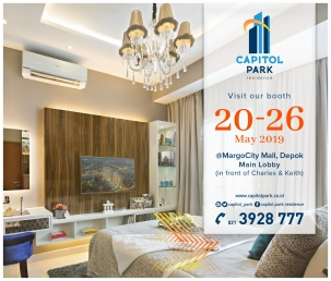 Capitol park residence salemba jakarta pusat news - Exhibition - May 2019