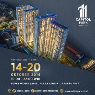 Capitol park residence salemba jakarta pusat news - Exhibition - Oct 2019