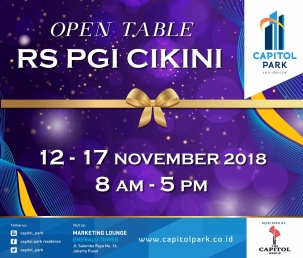 Capitol Park News - Open Table Nov 2018