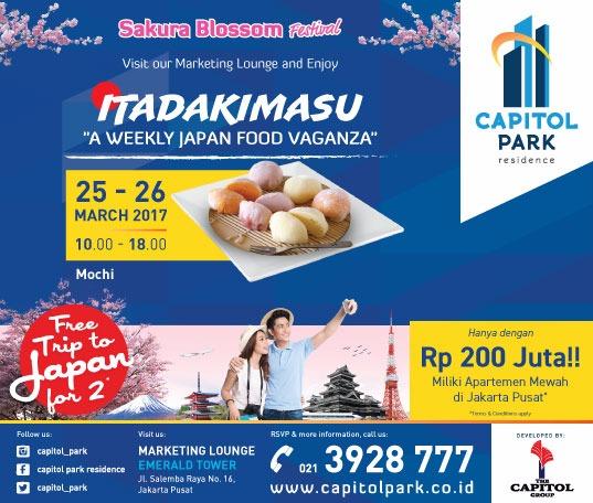 Capitol park residence salemba jakarta pusat news - Japan Food Vaganza - Mochi