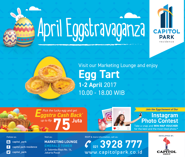 Capitol park residence salemba jakarta pusat news - April Eggstravanga