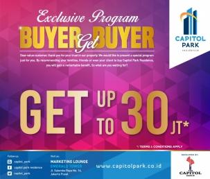 Capitol park residence salemba jakarta pusat news - Buyer Get Buyer - Oct 2018