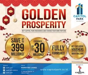 Capitol park residence salemba jakarta pusat news - Golden Prosperity - Buy Capitol Park Residence