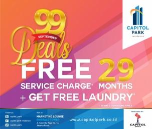 Capitol park residence salemba jakarta pusat news - 99 Deals - Sept 2018