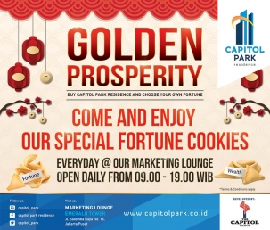 Capitol park residence salemba jakarta pusat news - Come and Enjoy Our Special Fortune Cookies