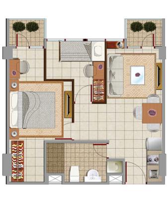 Sewa apartemen Maps BBT