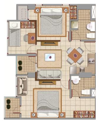 Sewa apartemen Maps BCCT pusat di jakarta