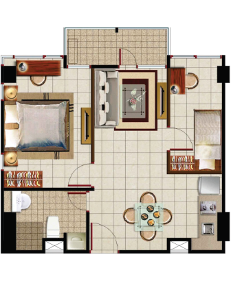 Sewa apartemen Maps BCT location pusat jakarta